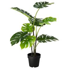 fejka artificial potted plant indoor outdoor monstera