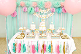 Pink And Gold Birthday Themes by Pink Mint And Gold Carousel Cake Dessert Table Birthday Party