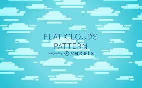 100 Flat Cloud Clouds Pattern Design Vector Download
