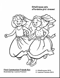 Superb Best Friend Coloring Pages With And Two Friends