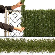 Spiral Christmas Trees Kmart by National Tree Company Insta Block Outdoor Pvc Garland Fencing