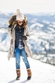Very Cute Winter Snow Outfit