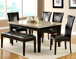 Marble Table And Chairs Contemporary Dining Set With Bench Coffee Uk