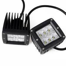 KAWELL® 2 Pack 18W Flood Light 1000 Lumens 3x3 LED Pods Marine RZR ... 4x 4inch Led Lights Pods Reverse Driving Work Lamp Flood Truck Jeep Lighting Eaging 12 Volt Ebay Dicn 1 Pair 5in 45w Led Floodlights For Offroad China Side Spot Light 5000 Lumen 4d Pod Combo Lights Fog Atv Offroad 3 X 4 Race Beam Kc Hilites 2 Cseries C2 Backup System 519 20 468w Bar Quad Row Offroad Utv Free Shipping 10w Cree Work Light Floodlight 200w Spotlight Outdoor Landscape Sucool 2pcs One Pack Inch Square 48w Led Work Light Off Road Amazoncom Ledkingdomus 4x 27w Pod