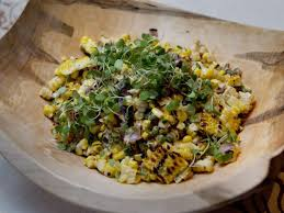Grilled Corn Salad With Chilis And Cheese By Bonnie Stern
