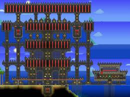 Pumpkin Moon Terraria Farm by The All Boss Challenge Terraria Community Forums