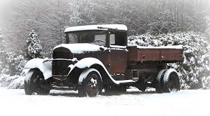 100 Trucks In Snow Pieced Pastimes Covered Old Truck Love