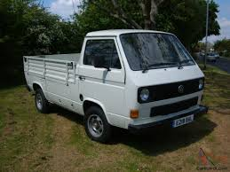 Small Diesel Trucks VW | VW TRANSPORTER T25 PICK-UP TRUCK 1.7 TURBO ...