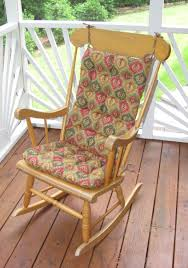Rocking Chair Cushion Sets Uk by Wood Rocking Chair Cushion Set Home Chair Decoration