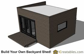 Saltbox Shed Plans 12x16 by 12x16 Studio Shed Plans Center Door