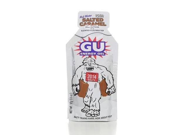 GU Salted Caramel Energy Gel - 32g