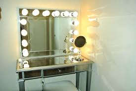Wall Mounted Lighted Makeup Mirror Reviews Vanity Tray With Regard