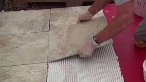 installing tile outside on a concrete porch or patio today s