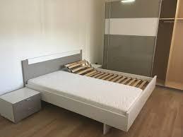 schlafzimmer bett schrank kommode komplett und wie neu