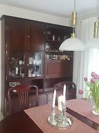 esszimmer englische stilmöbel schrank tisch und 6 stühle
