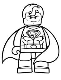Printable Lego Movie Coloring Pages For Kids