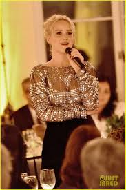 Lawrence Pumpkin Patch by Jennifer Lawrence Stuns At Patricia Arquette U0027s Dinner For Equality