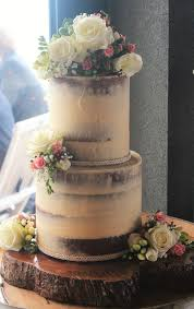 Rustic Naked Style Cake