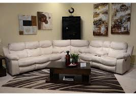 Furniture World Petal MS Catalina Ice Bonded Leather Reclining