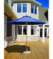 9 Ft Patio Market Umbrella by Classic 9 Foot Umbrella Galtech Teak Frame Patio Umbrella Store