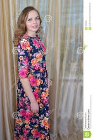 ggirl is in a beautiful summer dress stock photo image 70034554