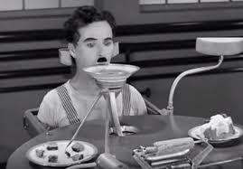 chaplin the billows feeding machine modern times 1936