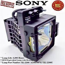 Kdf E50a10 Lamp Replacement Instructions by Sony Tv Lamp Ebay