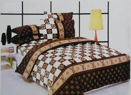 Fashion Bed Sheet LV Bedding Sets Louis Vuitton bedspread