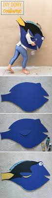 This DIY Dory Costume Will Keep the Kids Swimming