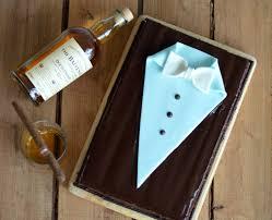 For real Gentlemen Suit inspired Dark Chocolate Whiskey Cake