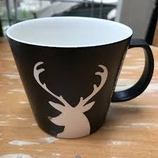 Spode Christmas Tree Mugs Candy Cane by Amazon Com Starbucks Black Reindeer Mug Christmas 2016 Xmas