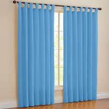 Brylane Home Curtain Panels by Brylanehome Studio Canvas Tab Top Curtain Curtains U0026 Drapes