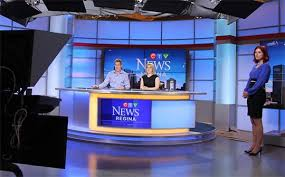 Broadcast News Backdrop Background CTV Canada Anchor