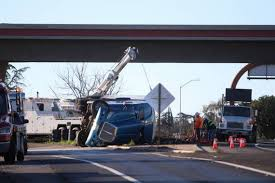 100 Truck Driving Jobs Fresno Ca Big Rig Accident On Highway 180 At 99 Drifts And Overturns The