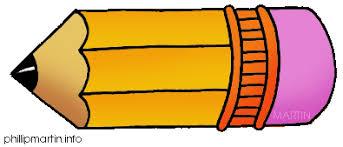 Horizontal Pencil Clipart