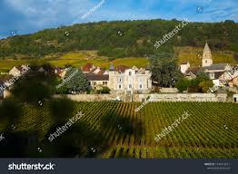 100 Houses In Nature Saintaubin Village Burgundy Located Stock