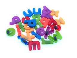 Small Lower Case Magnetic Letters Fridge Magnets Full Alphabet
