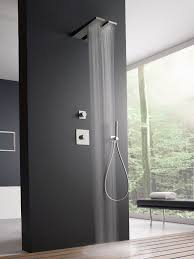 wall mounted 1 spray steel overhead shower 100 by zazzeri