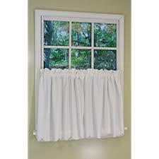 amazon com battenburg lace kitchen curtain 24 l tiers white by