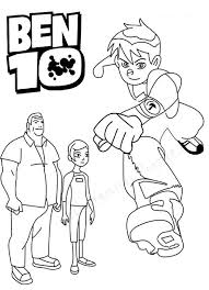 Pretentious Idea Ben 10 Coloring Pages Games