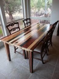relooker une table de cuisine idée relooking cuisine table en palette 44 idées à découvrir