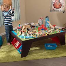 Kidkraft Heart Kids Table And Chair Set by Amazon Com Kidkraft Aero City Train Set U0026 Table Toys U0026 Games