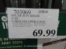 Outdoor Patio Curtains Canada by Solar Exterior Sun Shade