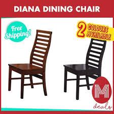 Diana Dining Chair Seat Depth 39cm Width 415cm Height 445