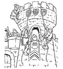 Castle Coloring Pages 9