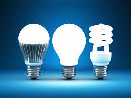comparing different types of light bulbs leds vs cfls vs
