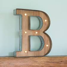 Letter Light C The Vintage Industrial