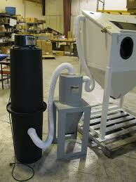 Bead Blast Cabinet Vacuum by Sandblast Dust Collector Dust Collection Cyclone Manufacturing