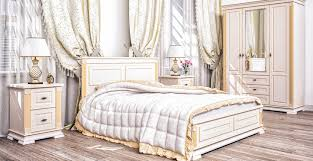 barock schlafzimmer creme gold athena 5 teilig https