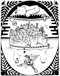 Jeremy Fish Coloring Book Upper Playground 006